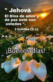 Jehova El Dios De Amor Y De Paz Jehovah Witness Quotes Family Bible Study Dear God