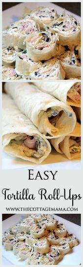 What are some tasty rolled tortilla appetizers?