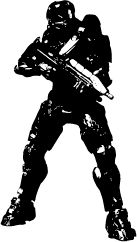 Master Chief Silhouette Silhouette Of Master Chief Silhouette Images Silhouette Master Chief