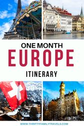 1 Month in Europe – The Good Europe Itinerary