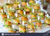 Delicious One Bite Mini Burgers Served On A Party Or Wedding Finger Foods For Re…