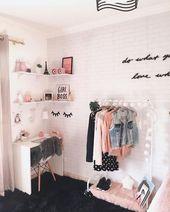 56 die grundlegenden Tatsachen der Schlafzimmerideen für jugendlich Mädchen träumen Zimmer Te…