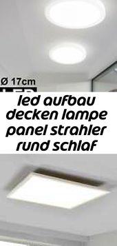 Brilliant Ceres LED Deckenlampe dimmbar Ultraslim Deckenleuchte Lampe Panel