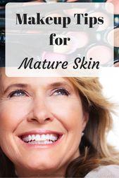 Mit zunehmendem Alter der Haut müssen sich die Make-up-Routinen ändern. Hilfreiche Make-up-Tipps für …   – Face Cream For Wrinkles