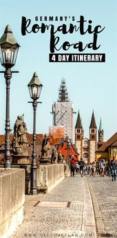 The Romantic Street Germany Journey Information // Suggestions, Maps & Itinerary