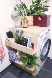 What a cool and practical DIY shelf from HellaPandora! Discover even more