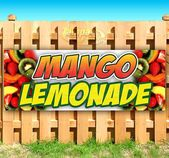 Banner de vinilo de servicio pesado de limonada de mango con letreros de publicidad comercial de ojales   – Products