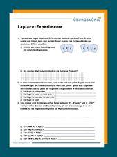 Kostenlose Arbeitsblätter und Übungen als PDF zum Thema Laplace-Experimente f…