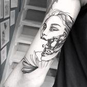 🎬Kamera! Action! 💥 #Tattoo #Kamera #Gesicht #Ziemlich #Frau #Schönheit
