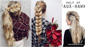 Braids are the ideal hairstyle for every occasion. Casual Everyday School or ... # Everyday School # Occasion # Hairstyle # Ideal for all # - # braids #Cas ...
