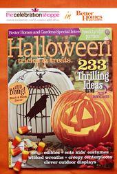 Die Feier Shoppe in Better Homes + Gardens Halloween
