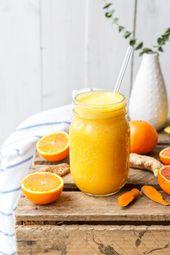 Kurkuma-Elixier mit Orange und Ingwer   – Rezepte – Kräuter und Gewürze / Recipes- Herbs,Spices