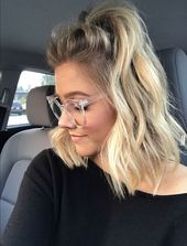 Inspo kurzes Haar / Blond / Fegen   – Frisuren, Zöpfe, geflochtene Haare • Gruppenboard
