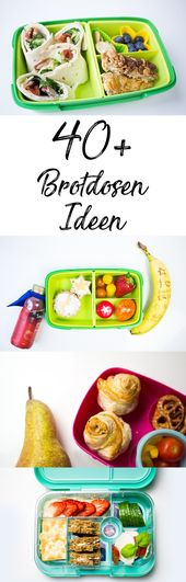 Lunch box for children: over 40 ideas and recipes