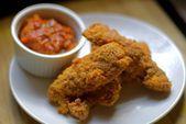 Paleo Almond Chicken Fingers –