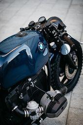 ROA Motorräder BMW R80 Custom Café Racer   – Motorcycle details | Motorcycle custom build details | Cafe racer details | Scrambler details