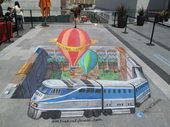 55+ Amazing 3D Street Art Guerrilla Marketing Examples   – 3d pavement art
