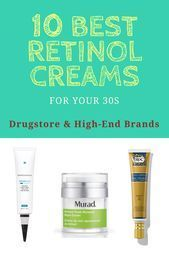 10 Best Retinol Creams For Anti Aging For All Skin Types Drugstore And High End Brands Aging Anti Brands Creams In 2020 Retinol Cream Retinol Firming Eye Cream