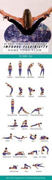 Yoga Flow für eine Biegsame Wirbelsäule – FREE PDF