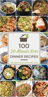 100 30 Minute Keto Dinner Recipes