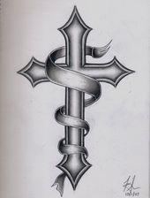 Über 50 Kreuz Tattoo Designs, um deinen Glauben zu zeigen – #Cross #one #Designs # …   – Kochen