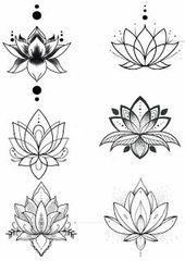 Top kleine Tattoo Kollektion für Frauen #flowertattoos – Flower Tattoo Designs