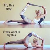Namaste – ✨ Yoga Yoga Pose Yoga für Anfänger ✨ – # Anfänger #Nama