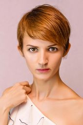 Kurzhaarfrisur im Sleek-Look – Pixie Cut | Schicke Kurzhaarfrisuren für Damen