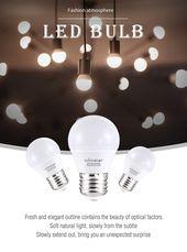 Comzler 6W A15 LED Birne Tageslicht 60 Watt Äquivalent E26 Medium Schraubsockel Klein …