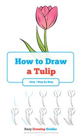 How to Draw a Tulip – Really Easy Drawing Tutorial – Zeichnen