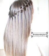 DIY Waterfall Braid by Braidsandstyles12. Tutorial : ..click on the image or link for more details.