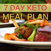 ¿Qué tan efectivo puede ser un plan de comidas ceto de 7 días? Si eres un principiante en ketogen …