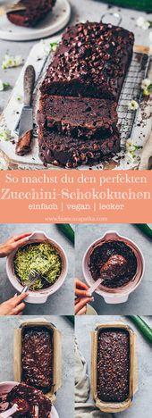 Veganer Zucchini-Schokokuchen