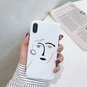 Abstract line art personalised phone case in 2019 | Phone
