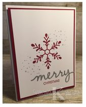 Faithful INKspirations: Holly, Jolly, Merry Christmas wird mit Stampin & # 39; …   – Kathy K's Kreations