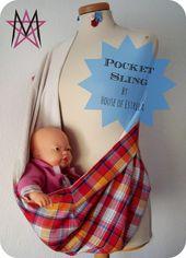 Baby Carrier Pocket Sling - step by step Photo tutorial - Schritt für Schritt Bildanleitung