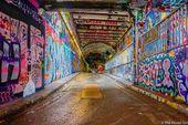 Leake Street Graffiti Tunnel: Então encontre o seu lugar na London Street Art – desabil …  – London