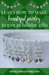Learn how to make beautiful jewelry to gift this holiday season –  Do you want t…