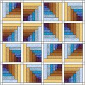 Log Cabin Tunnels Quilt Pattern – #Cabin #Log #log…