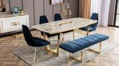 Ensemble de salle à manger de luxe Gloria   – Yemek Odası Takımları