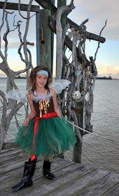 Pirate Fairy – Pirate Fairy Costume – Halloween fairy Costume – Fairy Costume – Pirate tutu dress – Pirate tutu – Pirate Costume