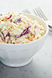 Würziges Rezept für amerikanischen Krautsalat