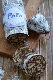 Schoko-Salami (Kalte Schnauze) Rezept zum Selberma…