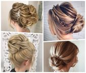▷ 1001 + ideas and instructions for loose updos