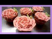 Blüten Cupcakes – Buttercreme Blumen Cupcakes – von Kuchenfee – YouTube – Cup …