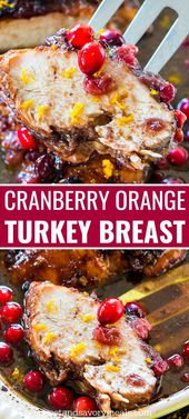 Cranberry Orange Turkey Breast – Sweet and Savory Meals