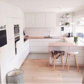 60 Elegant Kitchen In Scandinavian Style To Get Super Sleek Inspiration