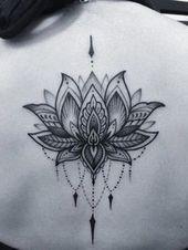 Geometric Tattoo – Image result for mandala rose tattoo