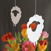Schafherde aus Papier – Österliches Basteln – Color Photo Pinterest – #au…