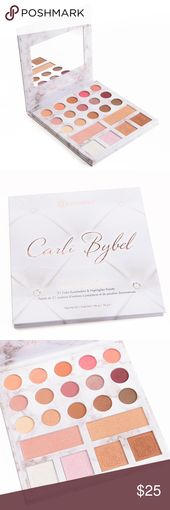 BH COSMETICS 21-COLOR palette Carli Bybel Deluxe Version BH COSMETICS 21-COLOR…